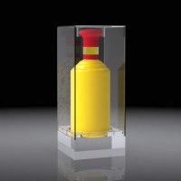 Acrylic wine hood