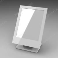 亚克力白色台镜