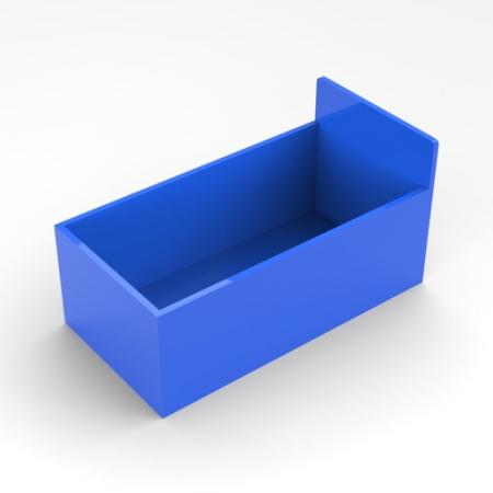 有机玻璃蓝色盒子