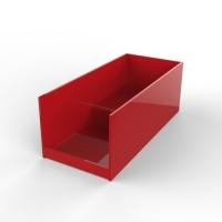 有机玻璃红色盒子