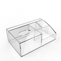 Acrylic tabletop box