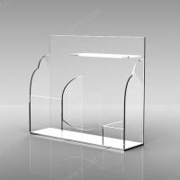 亚加力透明展示架