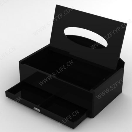 有机玻璃多功能纸巾盒