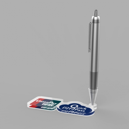 Acrylic pen support