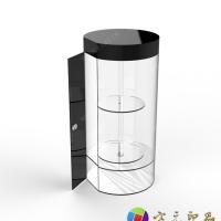 有机玻璃(亚加力)圆柱形展柜