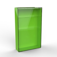 Acrylic display cabinet