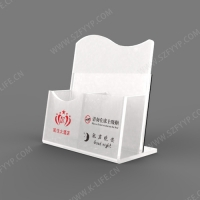 Acrylic hotel room supplies