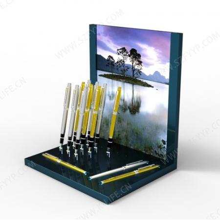 Acrylic pen display frame