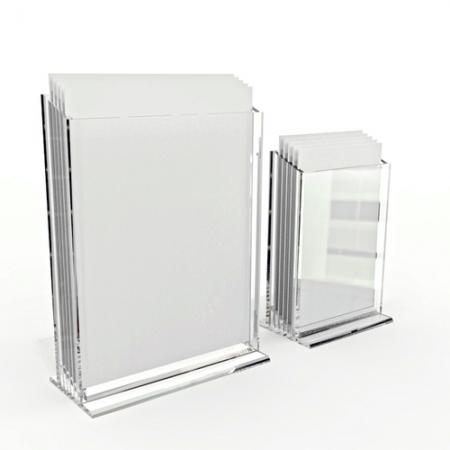 Acrylic data frame