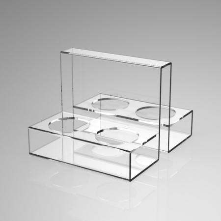 Acrylic cup frame