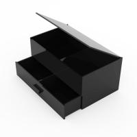 黑色亚克力物品收纳盒