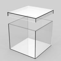 有机玻璃天地盖盒子
