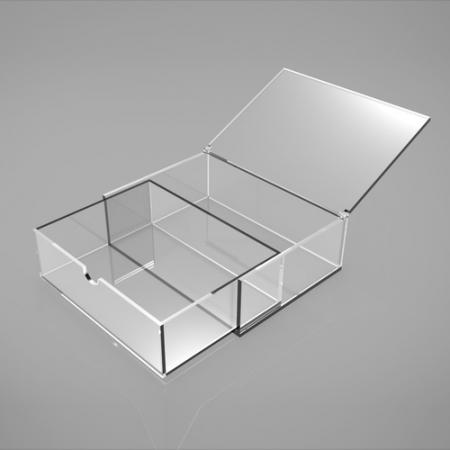 透明亚加力物品收纳盒