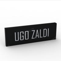 Acrylic desktop pedestal